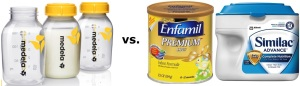 Breast milk vs Formula milk